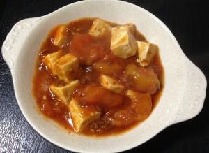 麻婆豆腐トマト